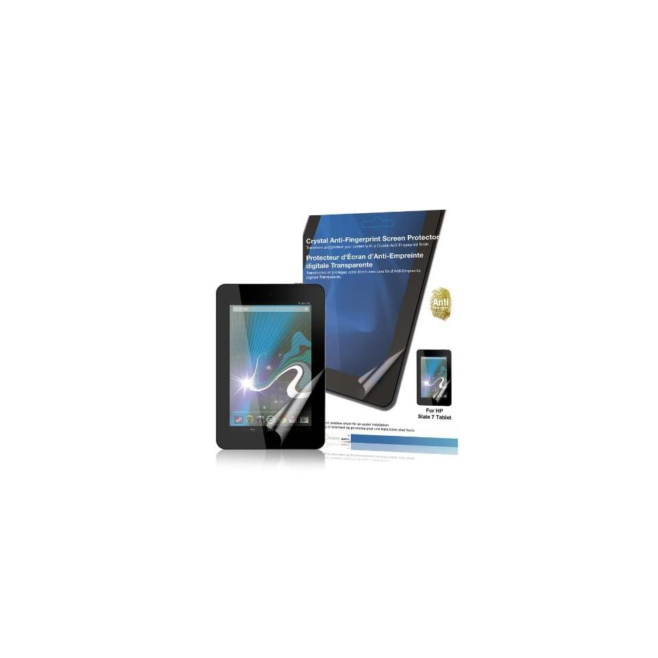 Green Onions Supply Crystal Anti Fingerprint Screen Protector for HP Slate 7 Tablet (RT SPHPS701AF)