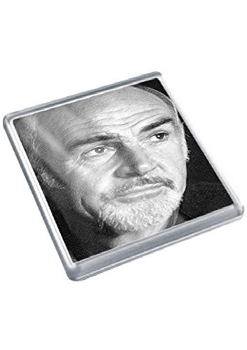 SEAN CONNERY - Original Art Coaster #js001