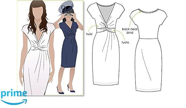 Patrón de costura de Style Arc, vestido Jessica (idioma español no garantizado), Sizes 18-30: Amazon.es: Hogar