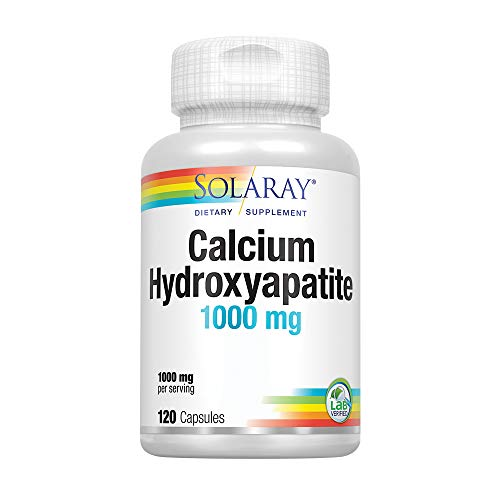 Solaray Hydroxyapatite (Calcium) 1000mg 120 Count
