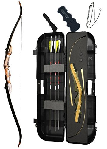 Samick Sage Ready 2 Shoot Package (Right Hand 45 lb yellow)
