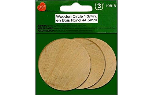 """The New Image Group Wood Turning Shapes-Circle 1-3/4""""X3/16 3/Pkg"""