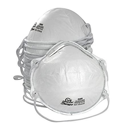 Dust Masks Niosh-certified Of box N95 Personal Amston 20