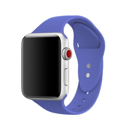 AdMaster Silicone Watch Band and Replacement Sport iwatch Accessories Bands Series 3 2 1 Royal Blue 42mm S/M (Series Royal Blue)