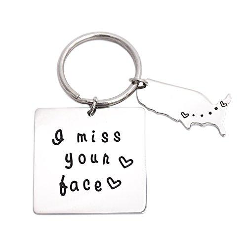 LParkin I Miss Your Face Jewelry (Keychain)