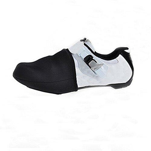 ZTMY Cycling Bike Short Shoe Toe Covers Warmer Protector Winters Bike Shoes Overshoes Black 1 Pair