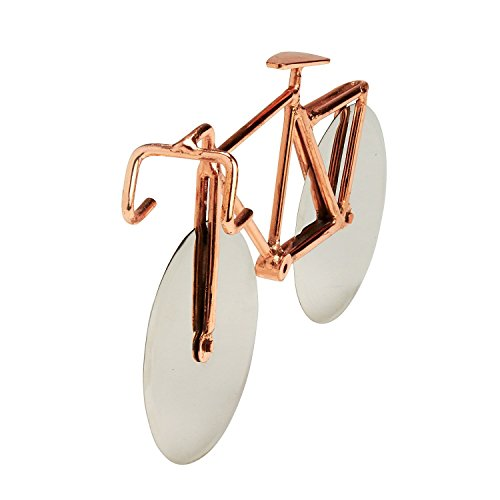 Stainless Steel And Metalwork Pizza Cutter 'Bicycle Pizza Cutter' (Bicycle Cutter Pizza)