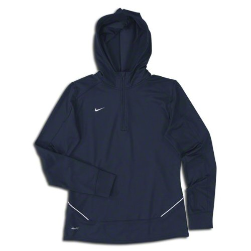 Nike Women's Long Sleeve Training Top NAVY by Nike