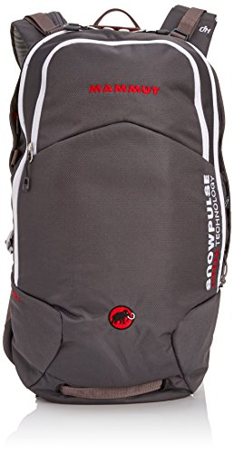 Mammut Lawinenrucksack Rocker Remowable Airbag, Smoke/White, 28 x 21 x 53 cm, 15 L, 2610-01080-0364-115