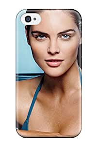 Fashion Case Cover For Iphone 4/4s(hilary Rhoda Wallapper)