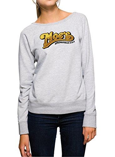 Moes Sweater Girls Gris Certified Freak