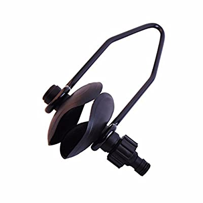 Boat Motor Flusher Engine Ear Muffs Outboard Garden Hose Connection (Universal, Round Cup)