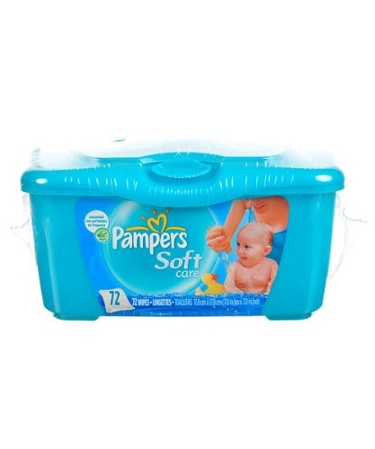 Pampers Soft Care Wipes - one color, one size
