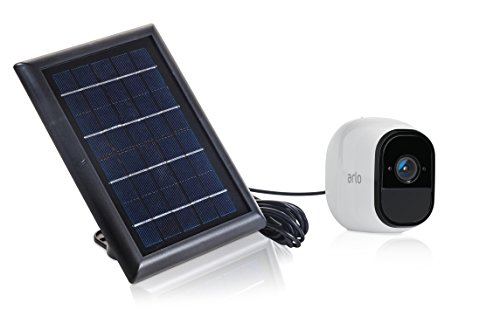 Solar Panel Compatible With Arlo Pro & Arlo Pro 2, Power your Arlo Outdoor  Camera continuously with our new Solar Charging Device – by Wasserstein