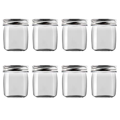 plastic 8 oz jars - 8