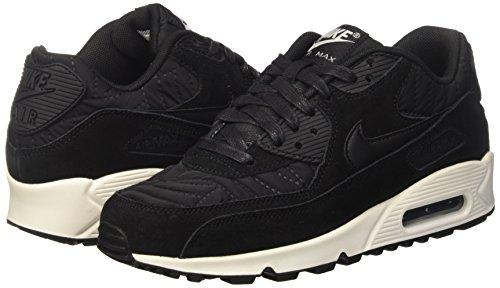 Negro Black Nike Mujer Deporte Zapatillas 009 443817 black Ivory De xwr8xq