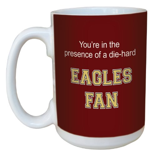 Tree-Free Greetings lm44643 Eagles College Basketball Ceramic Mug with Full-Sized Handle, 15-Ounce