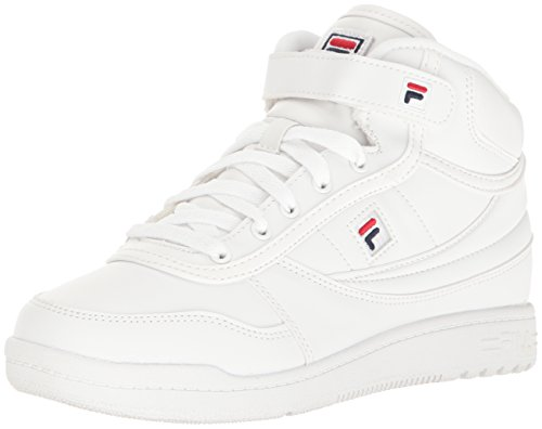 Fila Women's BBN 84 Walking Shoe, White Navy Red, 7.5 B US