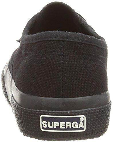 Superga 2750 Jcot Classic, Zapatillas Infantil Negro