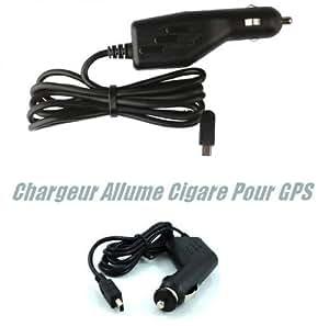 Gtech–Cargador de coche–cargador de coche para GPS Garmin Oregon 300