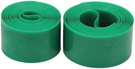 2 rollos de banda verde plástico-Bomba antipinchazos para ...