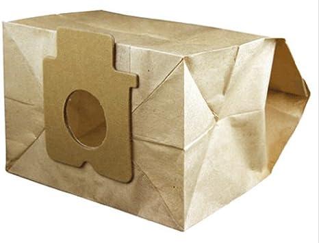Electruepart C2E - Bolsa para el polvo para aspiradora, paquete de 5, para Panasonic MCE746: Amazon.es: Hogar