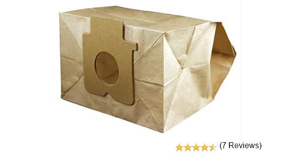Electruepart C2E - Bolsa para el polvo para aspiradora, paquete de ...