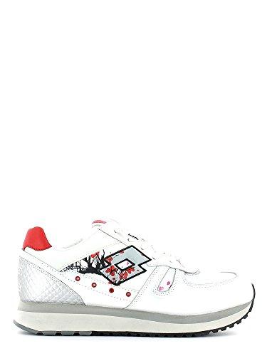 Lotto Leggenda - Zapatillas para mujer Blanco blanco blanco