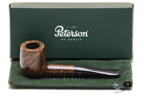 Peterson Shannon Briars 106 Fishtail Tobacco Pipe by Peterson