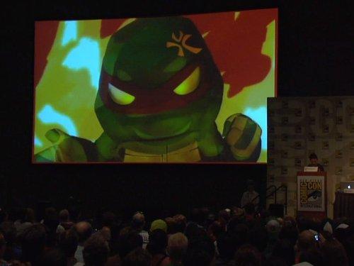 Teenage Mutant Ninja Turtles: Comic Con 2012 Panel ()