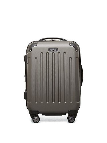 Kenneth Cole Reaction Luggage Against The Law Bag, Silver, One Size