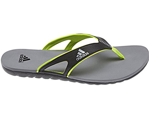 Adidas sailing Flip Flops Badelatschen Calo 5 Classic Slides, Farbe:Dark Grey;Größe:43 1/3
