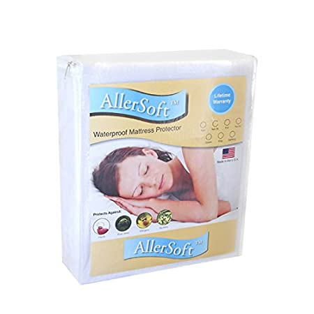 Bed Guard Twin XL Size Ultimate Hypoallergenic and Waterproof Mattress Protector 8005