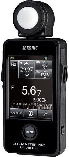 Sekonic LiteMaster Pro L-478D-U Light Meter Deluxe Case for L-478-series Meters 401-857