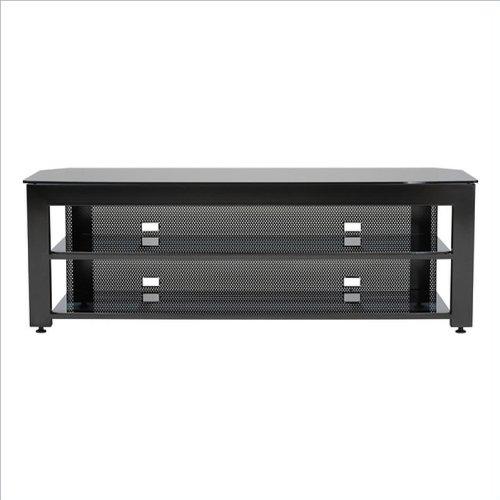 65'' Wide AV Stand Black