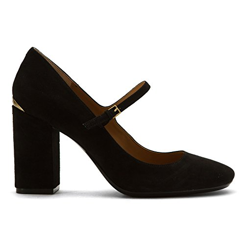8 Strap 6 Klein Toe 5 UK Size Black Closed Womens 5 US Cassian Suede Ankle Calvin US Mary dSYxP6wP