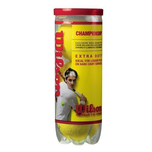 Wilson Sporting Goods Championship Extra Duty Tennis Balls  1 Can