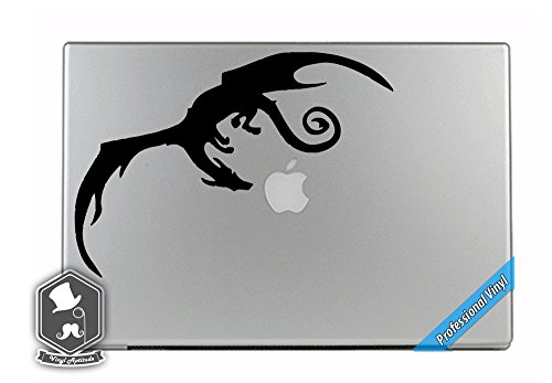 Lord of the Rings Inspired Dragon Hobbit GoT Art Vinyl Decal Sticker for Apple MacBook Dell HP Alienware Asus Acer or Any Laptop Notebook PC Computer