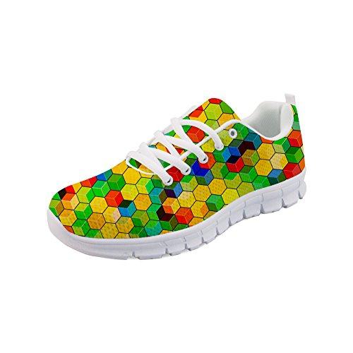 Color Para 7 Mujer Zapatillas Showudesigns v8qXxfpwn