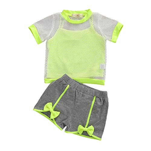 Toddler Baby Girl Sleeveless Tops Plaid Button Summer Shorts Set Clothes Outfits