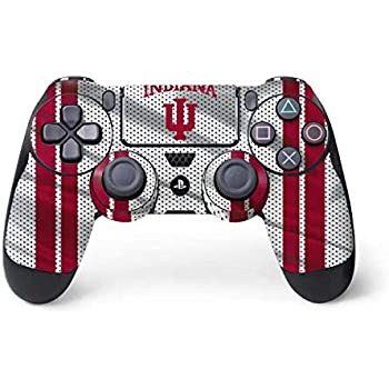 Skinit Indiana University PS4 Controller Skin - Officially Licensed Indiana University Gaming Decal - Ultra Thin, Lightweight Vinyl Decal Protection