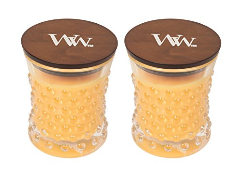 WoodWick Vintage Hobnail Candle Set - Seaside Mimosa