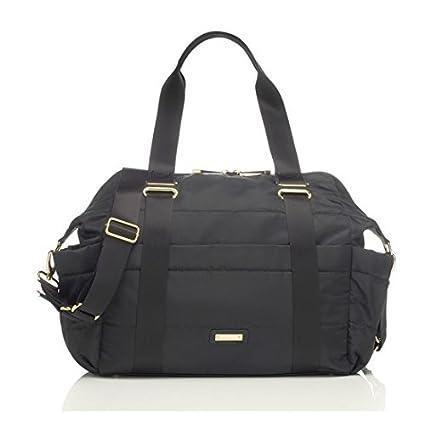 Storksak Sandy Diaper Bag in Black