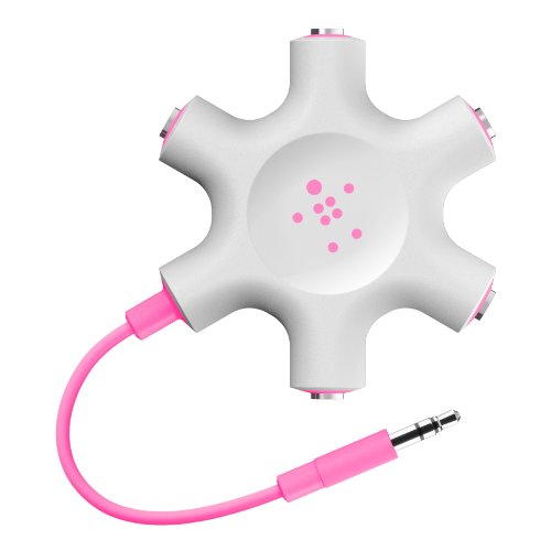 Belkin RockStar Headphone Splitter F8Z274btPNK