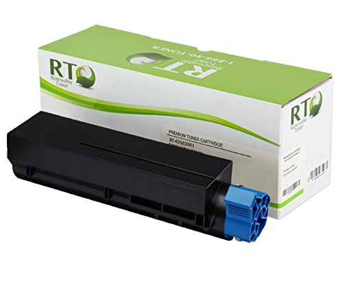 Renewable Toner Okidata 43502001 Compatible Toner Cartridge High Yield: 7,000 for Oki Laser Printers: B4550, B4550n, B4600, B4600n