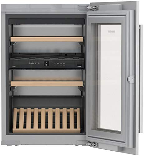 Liebherr HW3000 24 Inch Built-In Dual Zone Wine Cooler with 30 Bottle Capacity, in Panel Ready by Liebherr Products (Image #1)