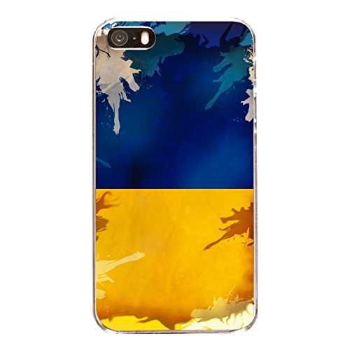"Disagu Design Case Coque pour Apple iPhone 5 Housse etui coque pochette ""Ukraine"""