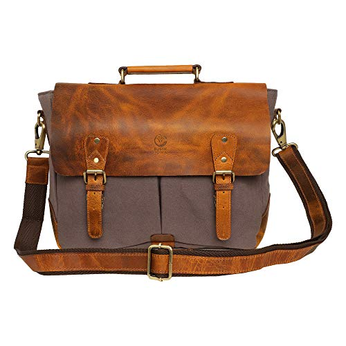 Rustic Town Leather Messenger