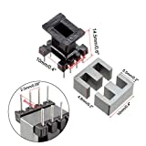 uxcell 20 Sets EE10 4 with 4pin Transformer