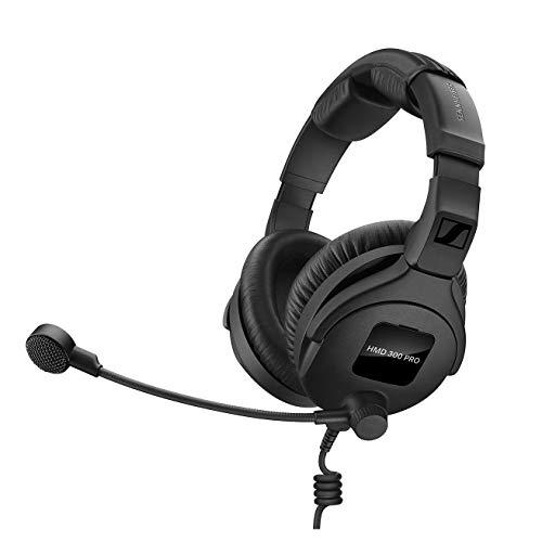 Sennheiser HMD 300 PRO Headset with Super-Cardioid Boom Microphone (300 Sennheiser)